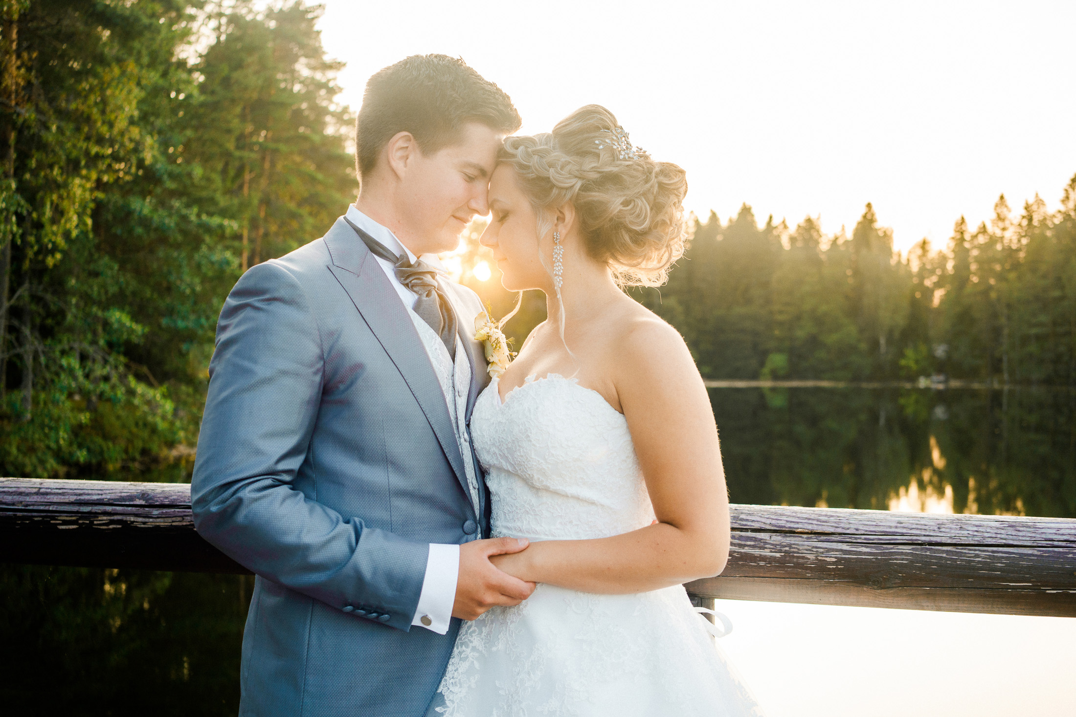 Destination summer wedding, swedish wedding photographer